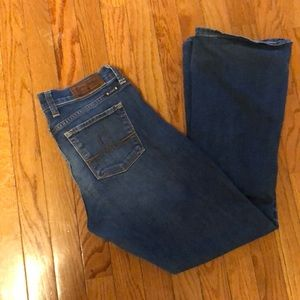 Lucky Brand Sofia Boot 6 ankle 28 jeans good cond